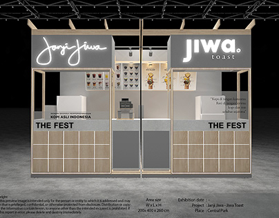 Exhibition Design - Janji Jiwa