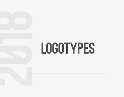 LOGOTYPES & MARKS . 2018