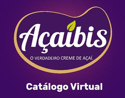 2018. Catalogo Virtual de açaí. / Maceió (AL). Brasil.