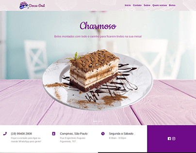Site Doces Onil