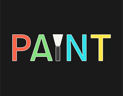Thirty Logos Challenge #9 - Paint