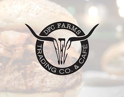 DFC Farms Trading Co. & Café - Branding