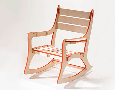 CNC Rocking Chair