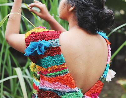Wearable Art- Bright Wings