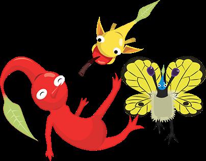 Pikmin Fan Animation