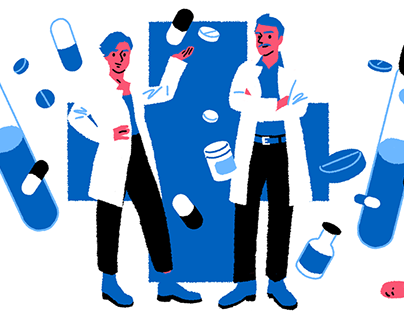 Pharmacy Editorial Illustrations – PTAheute
