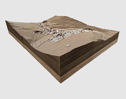 Blaengarw Site Model