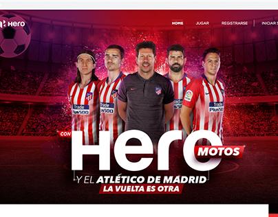"""Página Web """"Con Hero a Madrid"""" (UX, Content)"""