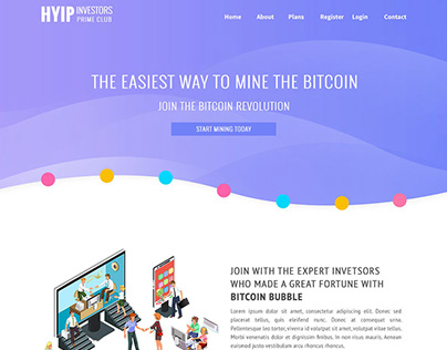 Prime Club – HYIP Template