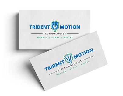 Trident Motion Branding Logo