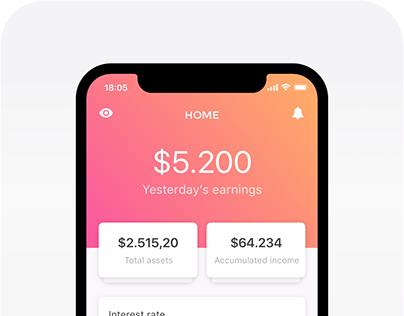 Fintech Mobile App - Visual Design