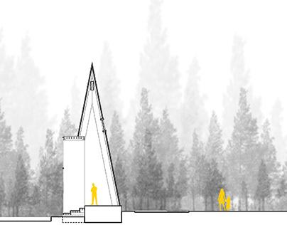 Proyecto lugar: Habitando el paisaje natural