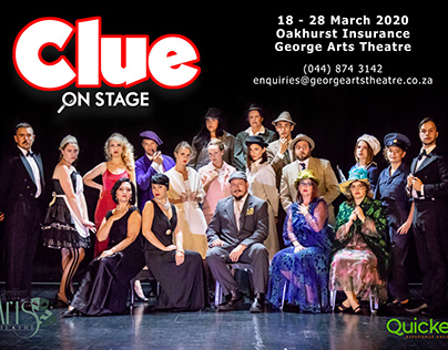 Clue on Stage Posters