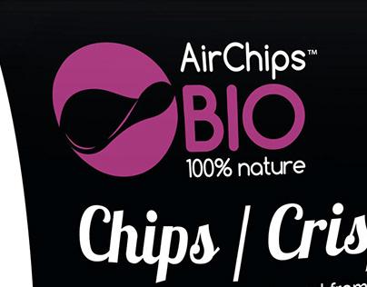 Sachets de chips pour Airchips