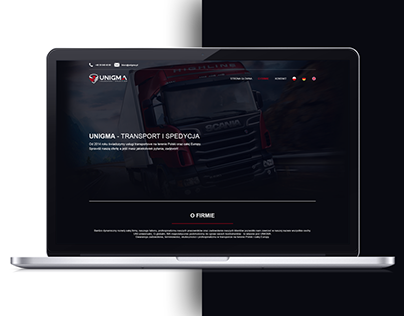 Transport & Spedition web site