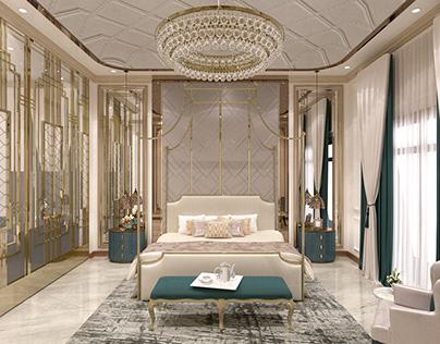 Master bedroom (luxury house)