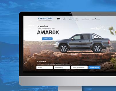 Landing Page Amarok