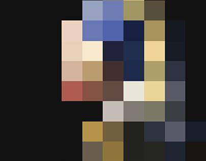 Pixelated Masterpiece