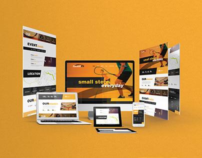 SquashFit - Website UI/UX