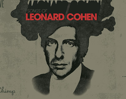 Leonard Cohen Poster for ATL Collective