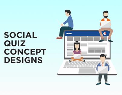 Social Quiz Concept Designs