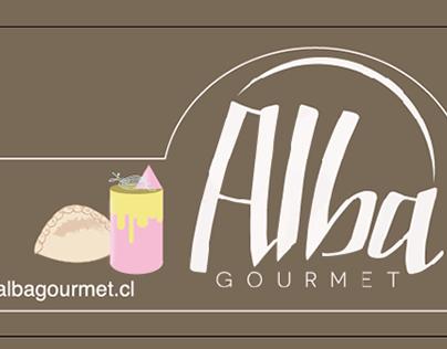 Alba Gourmet, rediseño de gráfica