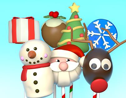 Tiny Pop TV - Christmas Idents