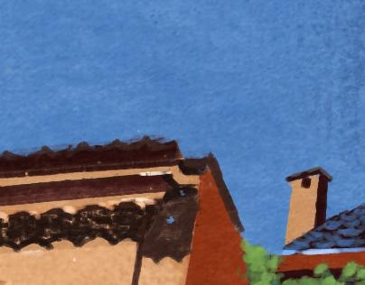 Bologna, cityscape