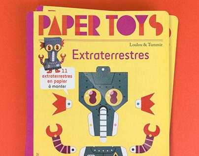 PAPERTOYS EXTRATERRESTRES