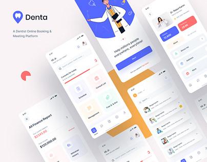 Dental Solution | Dental Mobile Apps Visual Design