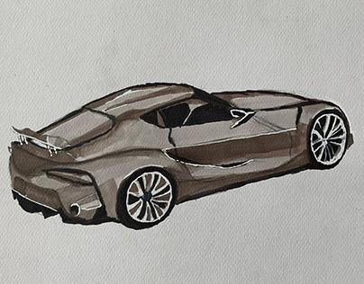 Sketching cars