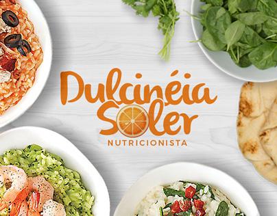 Dulcinéia Soler Nutricionista - Branding
