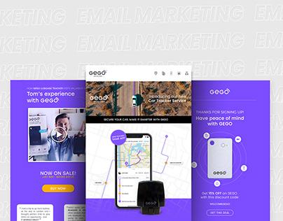 GEGO   Email Marketing Design