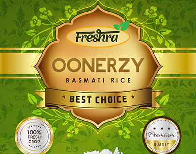 Freshra Rice Packaging