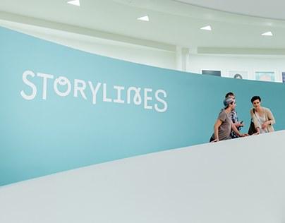 Guggenheim Storylines Brand Identity & Website