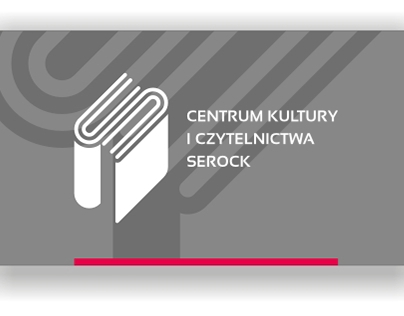 Logo, CI for Center of Culture and Readership in Serock