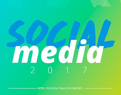 Social Media - Hotel Pousada Praia dos Amores