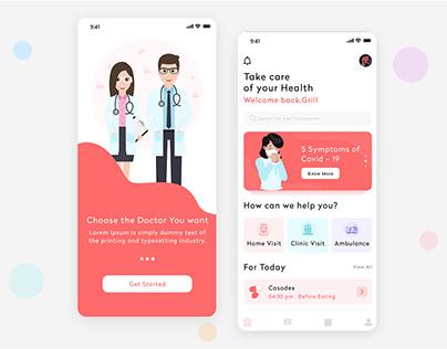 User Profile of Telemedicine App