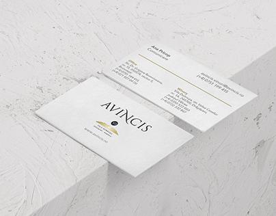 Avincis | Brand materials
