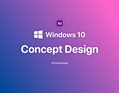 Windows 10 Concept Design 2020