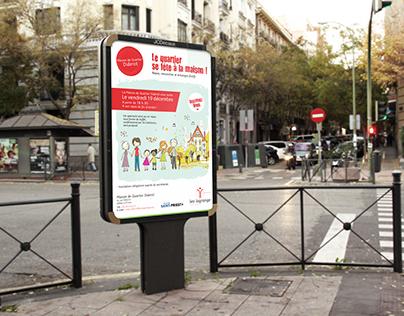 Maison de quartier Diderot - Affiche