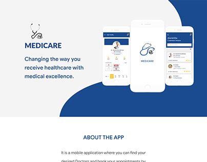 Medicare #UI/UX DESIGN# #Adobe XD#