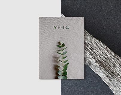 Minimalism food menu