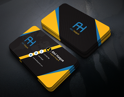 Free Business Card Template | Download Free!