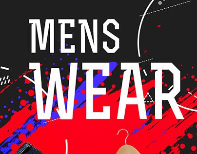 Men's Wear Banner Design