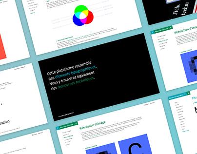 Pratiques typographiques