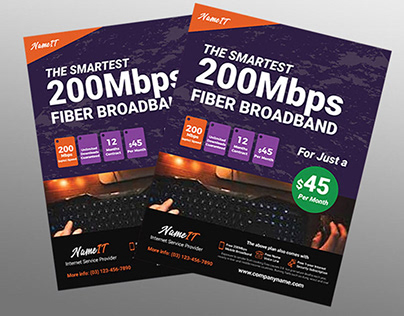 Internet Broadband Flyer