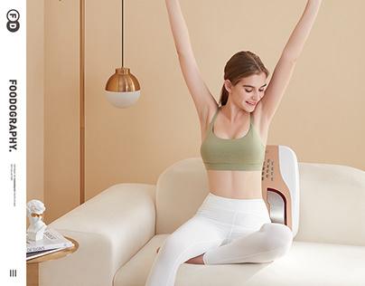 大健康产品摄影 | 健得龙腰椎按摩仪massage ✖ foodography