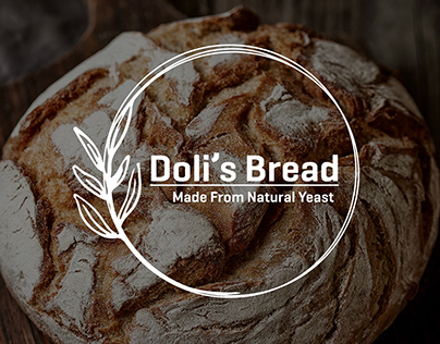 Doli's bread - Natural Yeast Logo Bakery