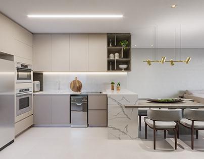 Projeto Residencial - Apartamento F&S